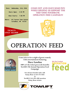 Operation Feed  Fundraiser