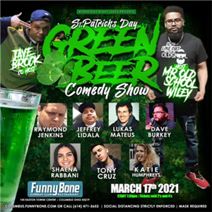 Wednesday Night Jokes Presents ... St. Patrick's Day Comedy Show