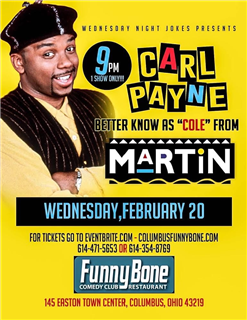 Wednesday Night Jokes Presents... Carl Payne