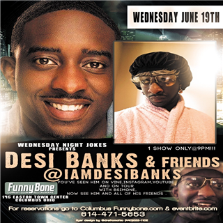 Wednesday Night Jokes Presents... Desi Banks