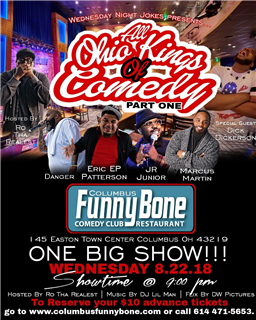 All Ohio Kings of Comedy Featuring Joe Torry