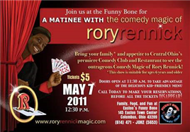 The Comedy Magic of  Rory Rennick